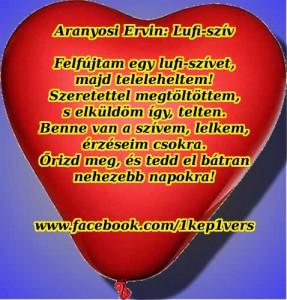 Aranyosi Ervin: Lufi szív