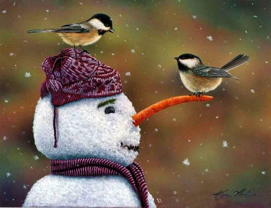 A szeretet hóembere