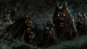 sötét farkasok
