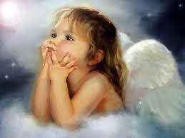 kisbabák angyalok