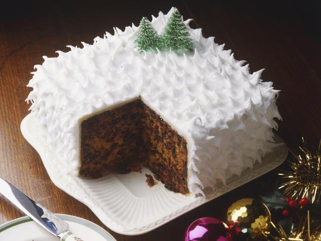 karácsonyi sütemény